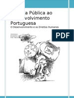 A Ajuda Pública ao Desenvolvimento Portuguesa