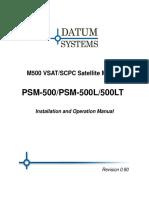 Manual Modem Datum Psm500