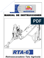 Manual de Retroexcavadora