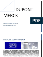 Caso DuPont Merck