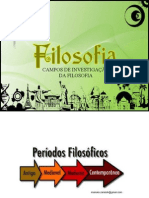 Campos de Investigacao Da Filosofia Edicao2