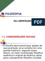 FILOSOFIA DA LIBERTAÇÃO