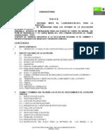 Bases de Convocatoria La-009j0u015-n5-2011 Mensajeria