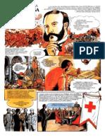 La Storia Della Croce Rossa a fumetti