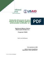 Informe mercado y política gub certificada RA TREES Ruth Lara 2008-PV