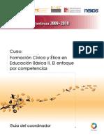 Curso de Formación Cívica y Ética en Edu Bás II