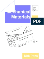 Mechanical Materials