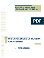 Developing Managerial Competencies