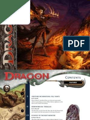 Dragon Magazine 376 | Dungeons & Dragons | Leisure