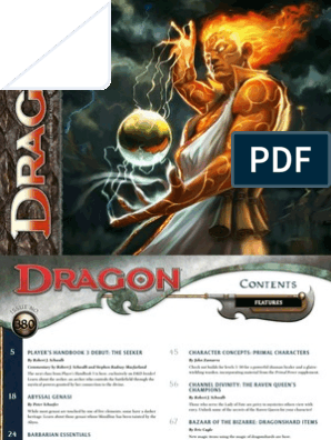 Dragon Magazine 380 | Archery | Dungeons & Dragons