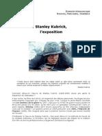 Dossier Expo Stanley Kubrick