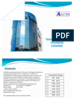 Transformer Training Course