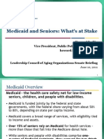 Medicaid and Seniors