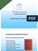 Direito Economico - Axilogia Constitucional e Modelo Economico Na Crp