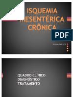 Isquemia mesenterica cronica