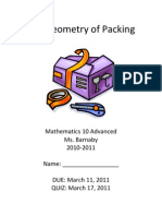 JLGeometry of Packing Booklet