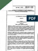 Ley1448 de 2011 - LEY VICTIMAS COLOMBIA