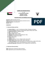 Ejemplo de Posicion Oficial