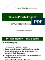 What is Private Equity?