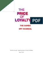 The Price of Loyalty- SAMBA SPY Scandal