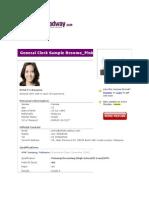 resume for spm leavers