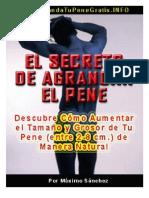 El Secreto de Agrandar El Pene
