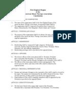 NERAMTA Constitution - April 2008