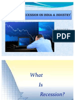 Impact of Recession on India & Industry