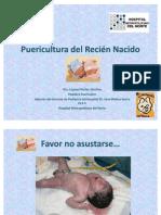 puericultura del recién nacido