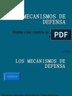 MECANISMOS DE DEFENSA2010