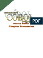 COBOL Chapter Summaries