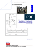 Report on Sub-Surface Properties of Soil Development