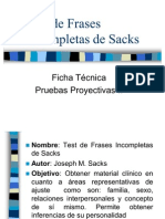 Test de Frases as de Sacks