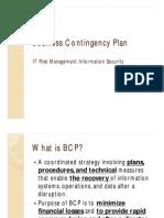 Business Continutity Plan Slides V1.1