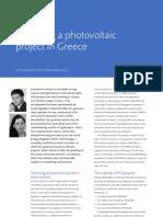Financing a Photo Voltaic
