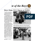 State of the Boys 2011 - Issue 1 - Monday