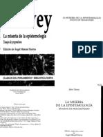 John Dewey - Miseria de la Epistemología BYN