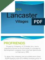 Lancaster Villages Powerpoint