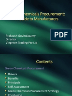 Green Chemicals Procurement