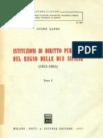 Landi - Istituzioni Di Diritto Pubblico Del Regno Delle Due Sicilie - Parte1