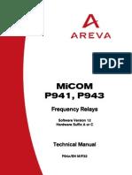 P94x Micom Relays