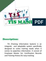 Tis Manual