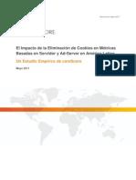 ComScore Impact of Cookie Deletion in Latin America - Spanish