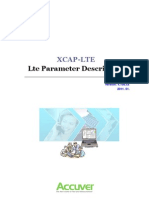 XCAP-LTE Analyzer LTE Parameter Accuver
