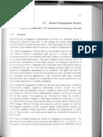 Indoor Propagation Models