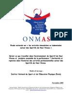000033-Etude Nationale Sur Les Activites Remunerees Ou Indemnisees Autour Des Sportifs de Haut Niveau