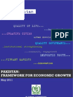 Final Version - Pakistan Framework for Economic Growth 2011 (May 2