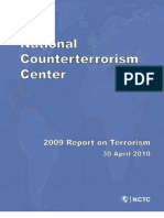2009 Report on Terrorism NCTC