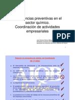 21 Sector QUIMICO Coordinacion Actividades JA_Gomez