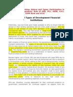 Development Banking (Sources)